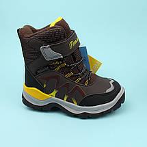 Зимние Термо ботинки для мальчика коричневые тм Том.м размер 30, фото 2
