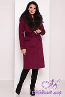 Женское зимнее пальто с мехом (р. S, М, L) арт. Лабио 8154 - 44108