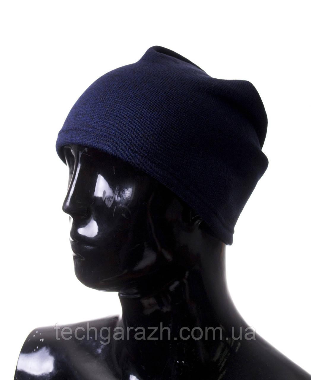 Шапка Echt Gloves One size Синий (E1ton d-blue)