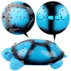 Проектор Звездное небо Черепаха (СИНИЙ), фото 2