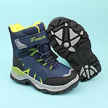 Термо ботинки зимние для мальчика синие тм Том.м размер 30, фото 3