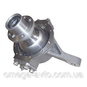 Кулак поворотный (452-2304010-01) УАЗ 452 правий без гальмівний. (пр-во УАЗ)