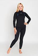 Женское спортивное лыжное термобелье Radical Edge (original) теплое зимнее комплект термобелья, черный цвет.