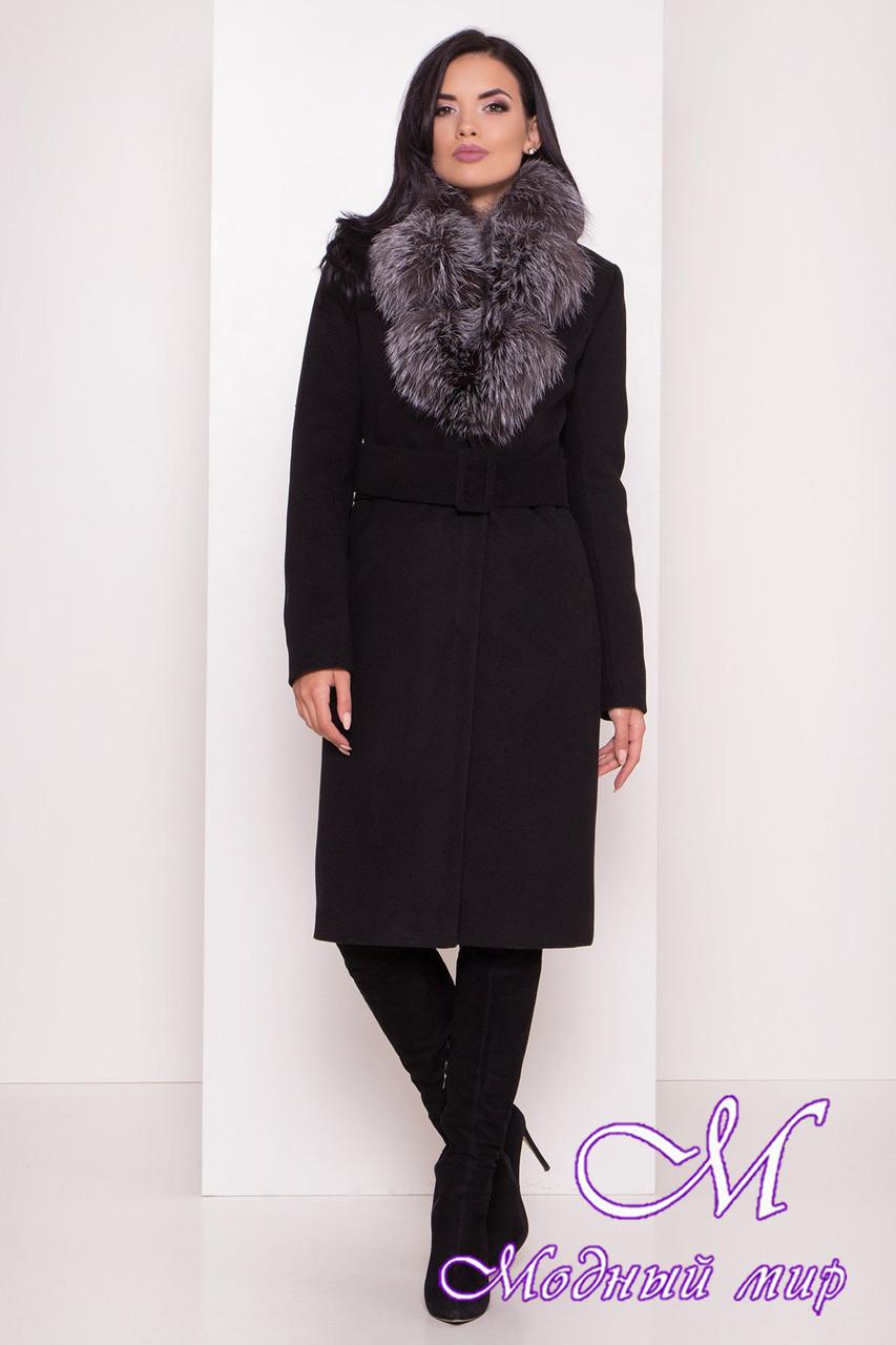 Красиве жіноче зимове пальто (р. S, M, L) арт. Кареро 8125 - 44076