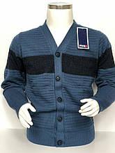 Кофта пуловер подростковый вязаный на мальчика на пуговицах dew FIVE 5