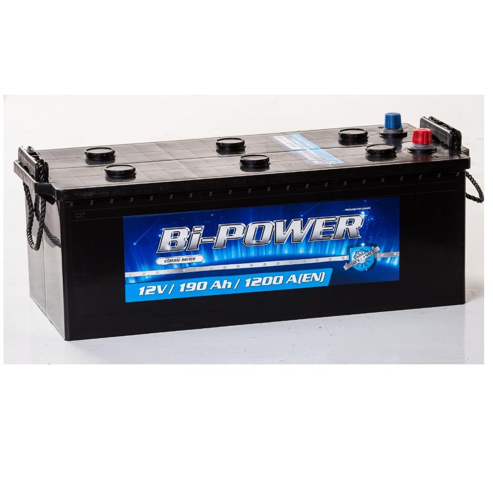 АКБ 6 ст 190 А (1200EN) (3) Bi-Power евро