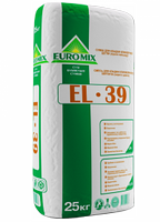 Евромикс EL 39, смесь для кладки клинкерного кирпича серый цвет, шов оригинал