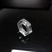 Прозрачная гайка  М10   [ АКРИЛ ] толщина - 5 мм.