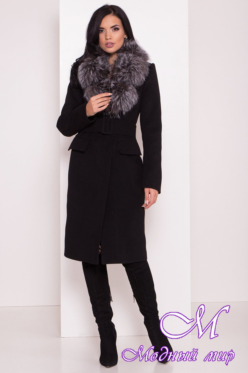 Женское зимнее пальто с мехом (р. S, М, L) арт. Лабио 8150 - 44107