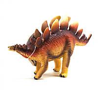 Динозавр резиновый Стегозавр, маленький со звуком