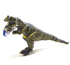 Динозавр резиновый,T-REX маленький  со звуком