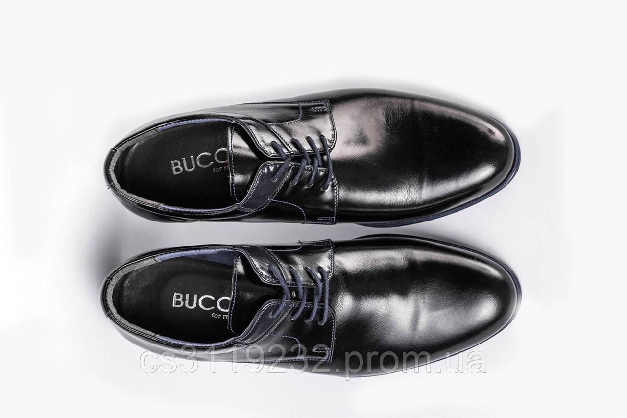 Туфлі чорні Bucci