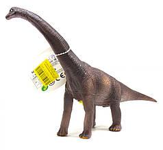 Динозавр резиновый Диплодок, маленький , со звуком