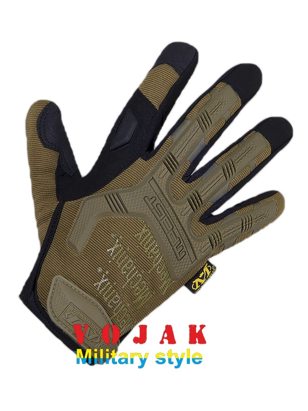 Перчатки тактические Mechanix Wear M-Pact Gloves (Coyote)