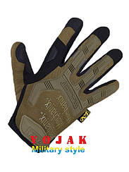Рукавиці тактичні Mechanix Wear M-Pact Gloves (Coyote)