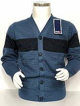 Кофта пуловер детский вязаный на мальчика на пуговицах FIVE 5