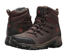 Ботинки Columbia Gunnison Omni-Heat. Цвет -коричневый. До -32С 45