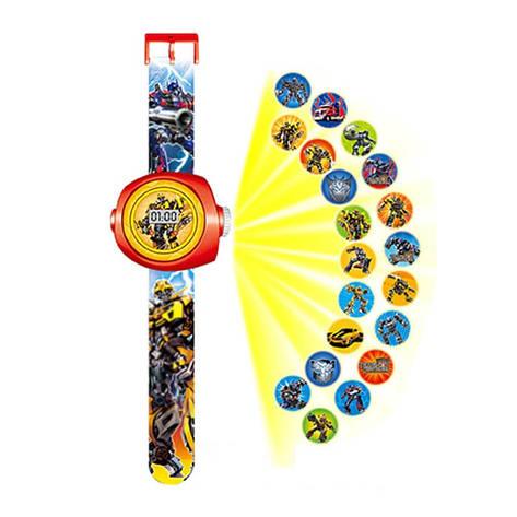 """Детские наручные часы с 3d проектором """"Трансформеры"""", фото 2"""