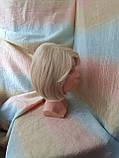 Парик каре из термоволокна жемчужный блонд 2736t- 24ВТ613, фото 6