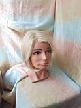 Парик каре из термоволокна жемчужный блонд 2736t- 24ВТ613, фото 3
