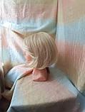 Парик каре из термоволокна жемчужный блонд 2736t- 24ВТ613, фото 2