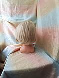 Парик каре из термоволокна жемчужный блонд 2736t- 24ВТ613, фото 5
