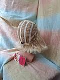 Парик каре из термоволокна жемчужный блонд 2736t- 24ВТ613, фото 8