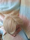 Парик каре из термоволокна жемчужный блонд 2736t- 24ВТ613, фото 7