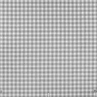 Занавески в спальню в мелкую клетку бело-серого цвета Турция