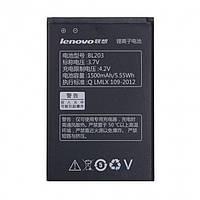 Аккумулятор BL203 для Lenovo A278T/A365E/A308T/A369/A318T/A385E/A300T/A269I/A208T/A218T/A269/A305 1500 mAh (00882)