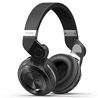 Беспроводные Bluetooth наушники Bluedio T2 Plus со встроенным радио (Черный)