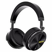 Беспроводные Bluetooth наушники Bluedio T5 с активным шумоподавлением (Черный)