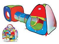 Детская палатка с тоннелем А999-143