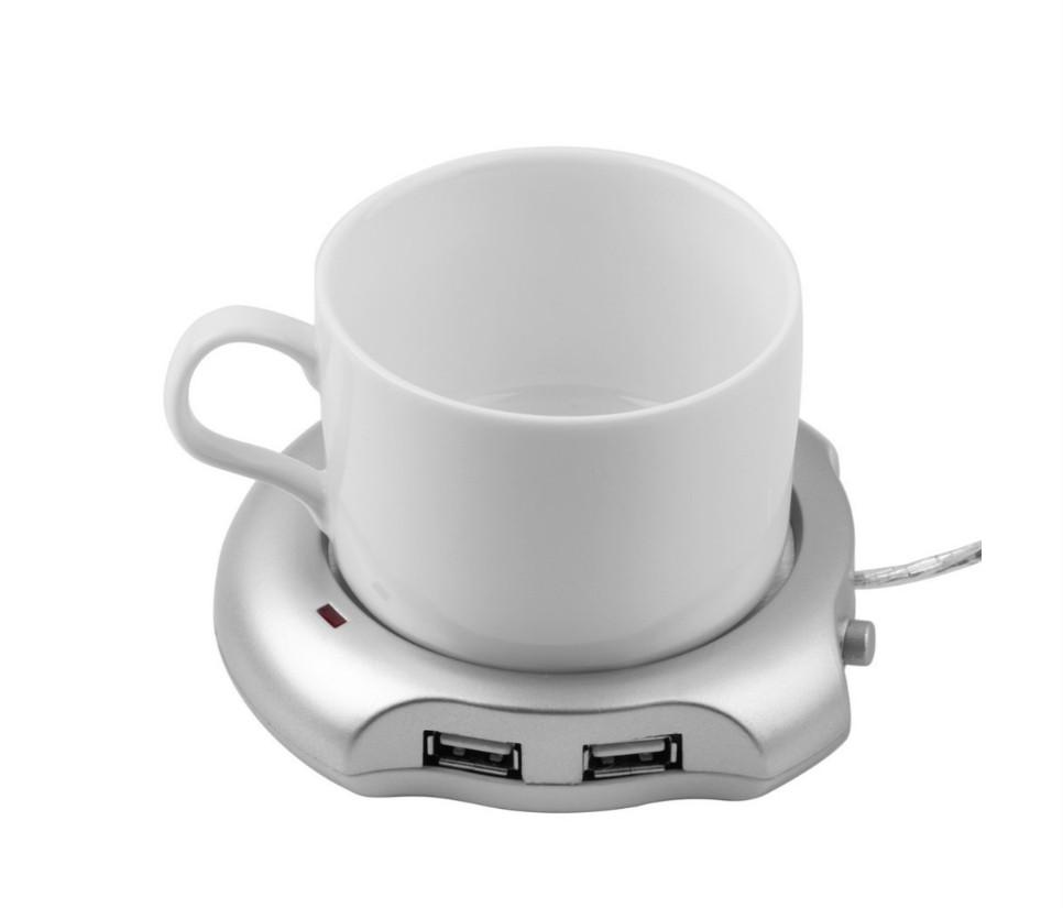 USB подставка-нагреватель для чашки. USB хаб на 4 порта