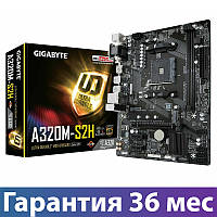 Материнская плата сокет AM4 Gigabyte GA-A320M-S2H