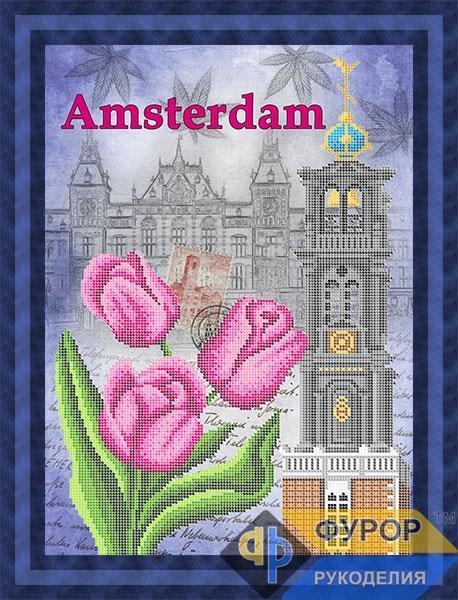 Схема для вишивки бісером картини Амстердам (ПБч3-098)
