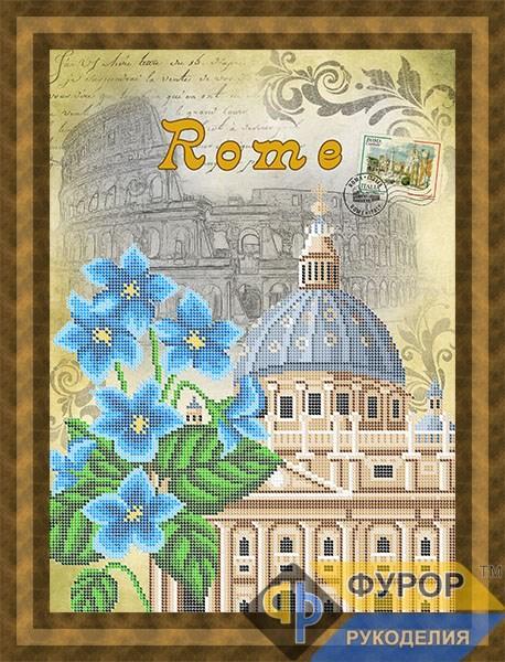 Схема для вышивки бисером картины Рим (ПБч3-102)