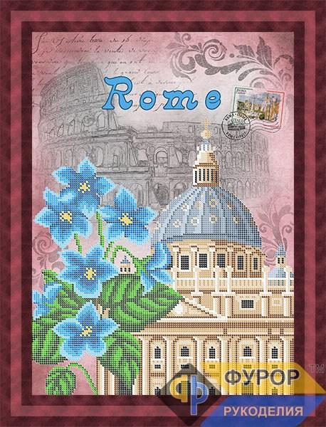 Схема для вишивки бісером картини Рим (ПБч3-103)