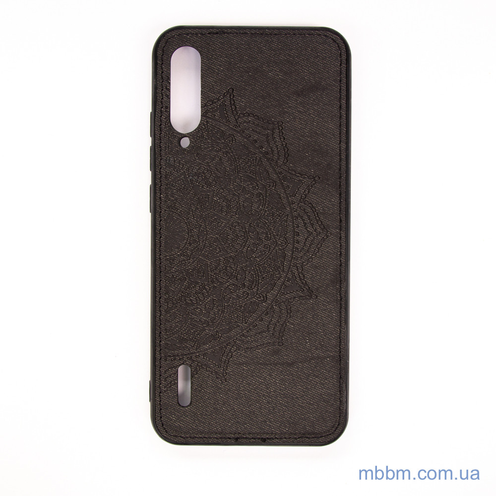 Накладка TPU+Textile Mandala с 3D тиснением Xiaomi Mi A3/CC9e Black