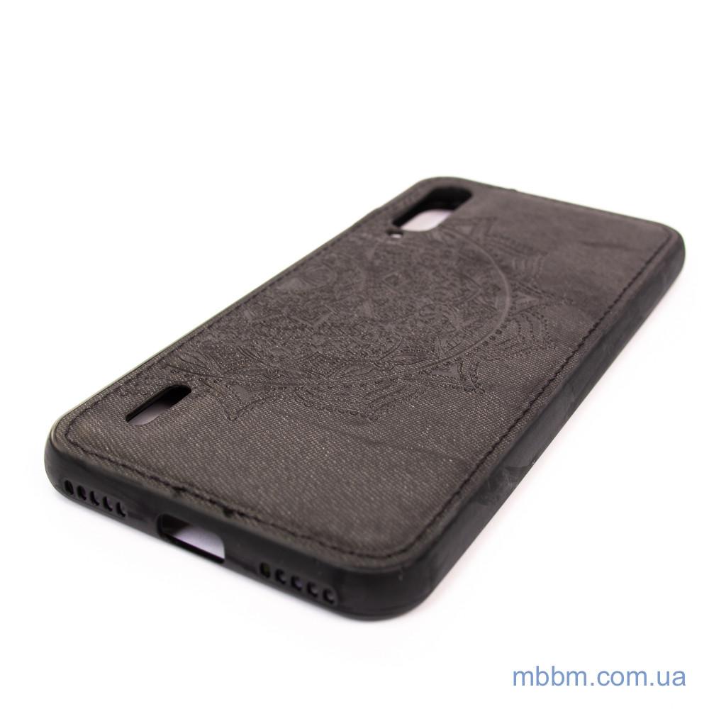 Чехлы для Xiaomi Mi A3 / CC9e TPU+Textile Mandala с 3D тиснением Black