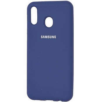 Чехол Silicone Case Full Protective для Samsung Galaxy M20
