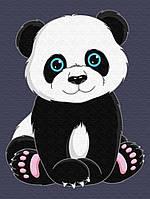 """Картина по номерам """"Панда"""" для детей в коробке, 30*40 см"""