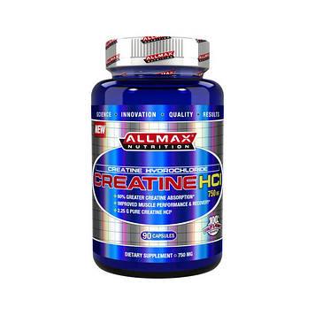 Креатин Гидрохлорид Creatine HCL 750 mg (90 caps) All Max Nutrition