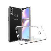 Прозрачный силиконовый чехол для Samsung Galaxy A10s 2019 (a107)