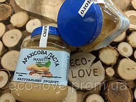 Арахисовая паста с морской солью, кранч, ТМ MANTECA, 500 грамм
