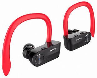 Вакуумные наушники Awei T2 Twins Earphones Красные
