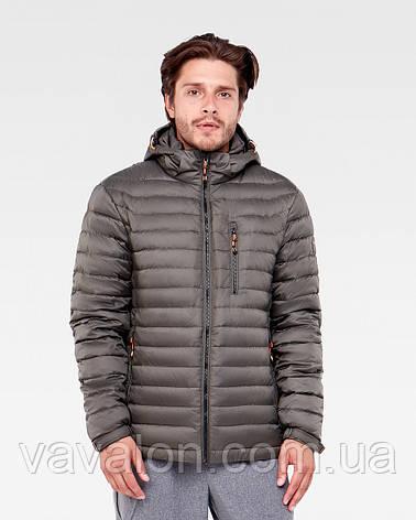Куртка демисезонная Vavalon KD-908 Khaki, фото 2