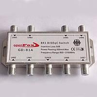 Коммутатор DiSEqC 8x1 OpenFox GD-81A R150764