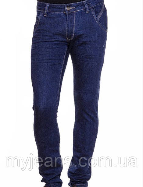 Джинсы мужские Franco Benussi 16-128 темно-синие
