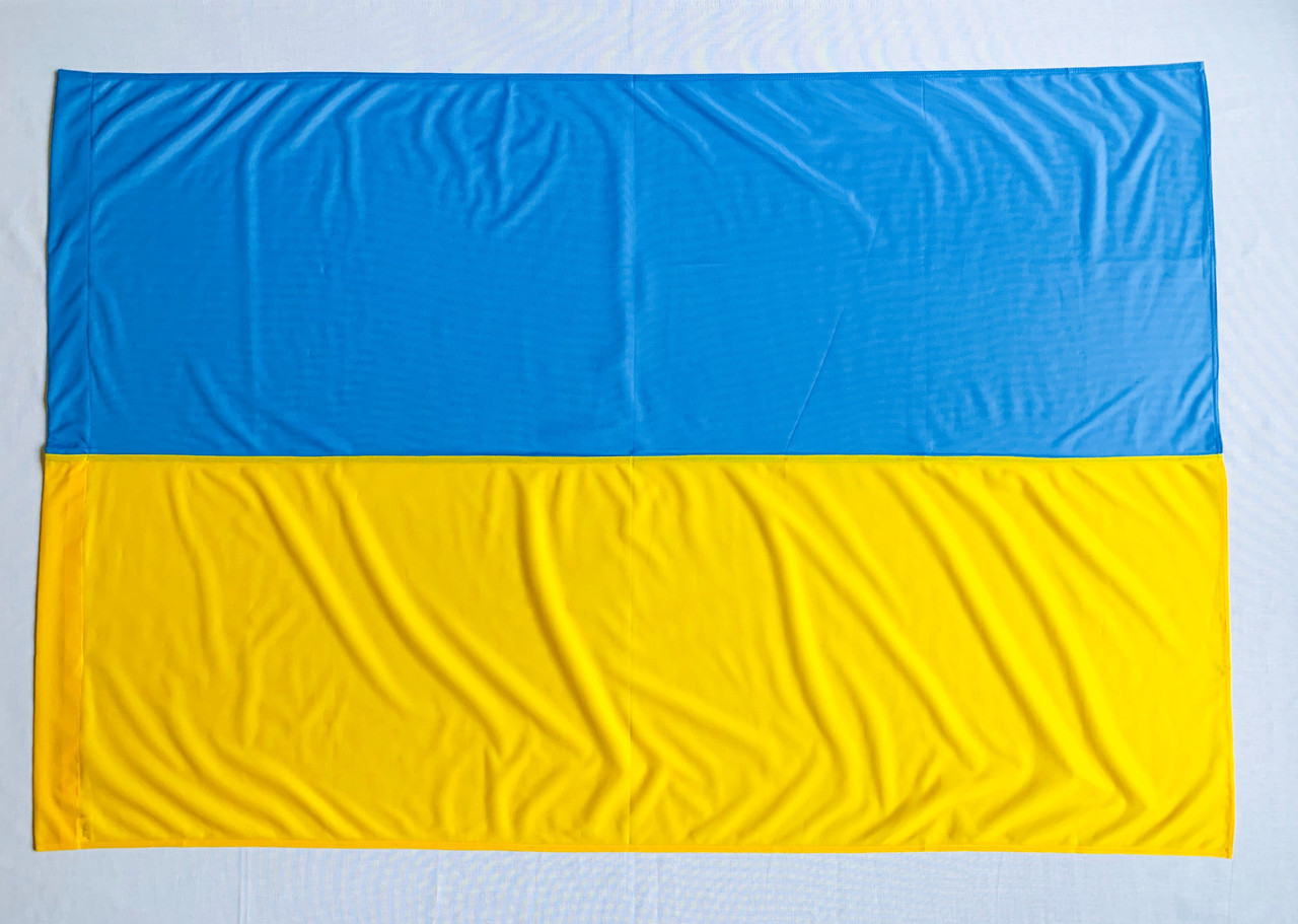 Флаг Украины 1м*1.5м Флажная сетка 1 Год гарантии